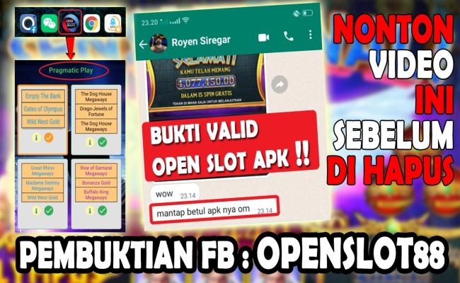 Apk Open Slot - Apk Hack Slot Gacor Terbaru Dapatkan Hanya di Sini